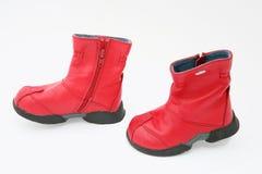 De laarzen van de baby royalty-vrije stock afbeelding