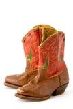 De laarzen van de cowboy Royalty-vrije Stock Afbeeldingen