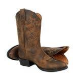 De laarzen van de cowboy Stock Foto