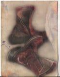 De laarzen van de droom Stock Afbeeldingen