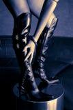 De laarzen van de lijfeigenschap Stock Foto