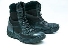 De laarzen van de politie Royalty-vrije Stock Afbeelding