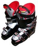De laarzen van de ski Stock Fotografie