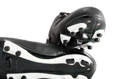De laarzen van de voetbal Stock Afbeeldingen