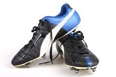 De laarzen van de voetbal Royalty-vrije Stock Afbeelding