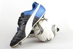 De laarzen van de voetbal Royalty-vrije Stock Foto's