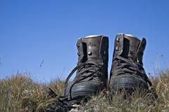 De laarzen van de wandeling Royalty-vrije Stock Afbeelding