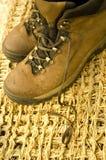 De laarzen van de wandeling stock afbeelding