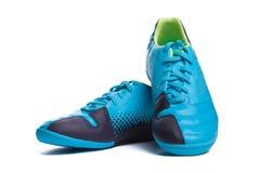 De laarzen van Footbal. De laarzen van het voetbal. Royalty-vrije Stock Foto