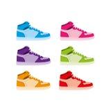 De laarzen van het basketbal Royalty-vrije Stock Foto's