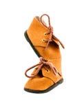 De laarzen van het fluweel Stock Fotografie