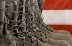De Laarzen van het gevecht Royalty-vrije Stock Foto's