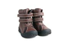 De laarzen van het kind Stock Foto's