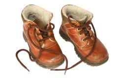 De laarzen van het leer #2 stock fotografie