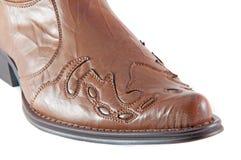 De Laarzen van het leer Stock Foto