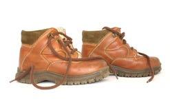 De laarzen van het leer Royalty-vrije Stock Fotografie