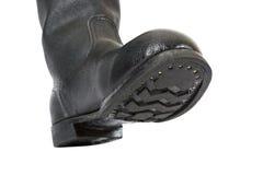 De laarzen van het leger Stock Afbeeldingen