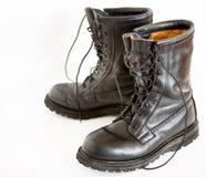 De Laarzen van het leger stock afbeelding