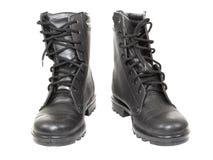 De laarzen van het leger Royalty-vrije Stock Foto's