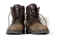 De laarzen van het werk Royalty-vrije Stock Afbeeldingen