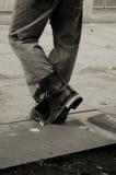 De laarzen van het werk Stock Fotografie