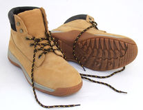 De Laarzen van het werk Royalty-vrije Stock Afbeelding