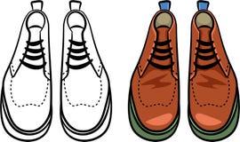 De laarzen van Mens Royalty-vrije Stock Afbeeldingen