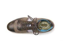 De laarzen van mensen Stock Foto