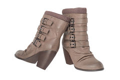 De laarzen van vrouwen Stock Fotografie