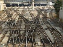 De labyrinten van het staal Royalty-vrije Stock Fotografie