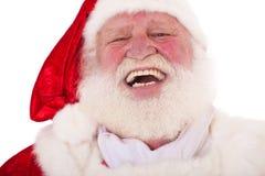 De lachende Kerstman stock afbeeldingen