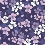 De laconieke bloesem naadloos patroon van de sakurakers stock illustratie