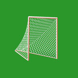 But de Lacrosse. illustration de vecteur