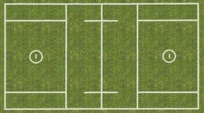 De Lacrosse Speelgebied van mensen stock illustratie