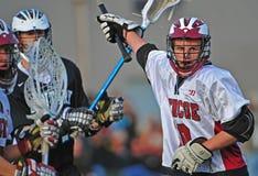 De Lacrosse van jongens royalty-vrije stock foto's