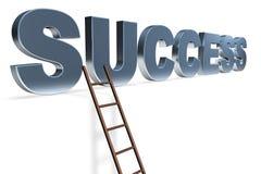De ladder aan Succes Royalty-vrije Stock Fotografie