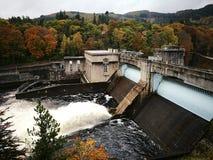 De ladder en de dam van Pitlochryvissen Royalty-vrije Stock Afbeelding