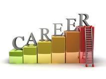 De Ladder van de carrière Stock Afbeelding