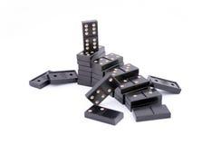 De Ladder van de domino Stock Fotografie