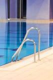 De ladder van de pool Stock Foto's