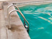 De ladder van de pool Royalty-vrije Stock Afbeeldingen