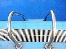 De ladder van de pool Stock Foto
