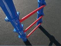 De Ladder van de speelplaats stock fotografie