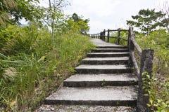 De Ladder van de steen Royalty-vrije Stock Foto