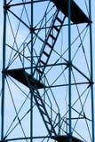 De ladder van de steiger royalty-vrije stock foto's
