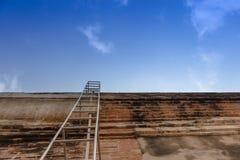 De Ladder van de uitgang Stock Fotografie