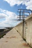 De ladder van de zeedijk Royalty-vrije Stock Afbeeldingen
