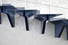 De ladder van het metaal stock fotografie