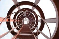 De ladder van het staal Stock Foto's