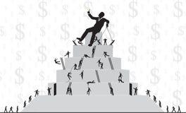 De ladder van het werk Royalty-vrije Stock Fotografie